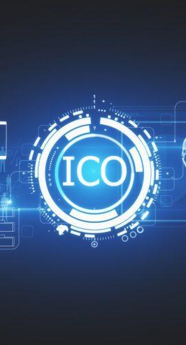Blue ICO icon