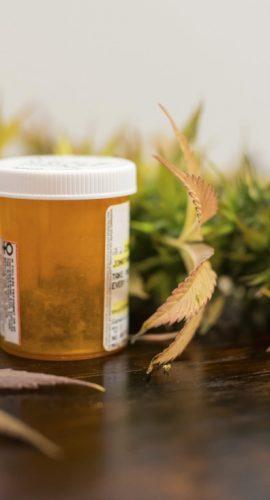 Medical Marijuana medicine capsule