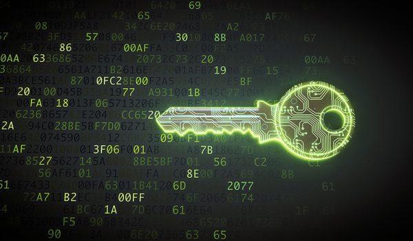 Digital key unlocking code