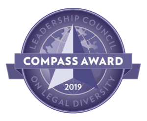Leadership Council on Legal Diversity Compass Award 2019