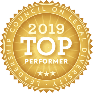 Leadership Council on Legal Diversity 2019 Top Performer